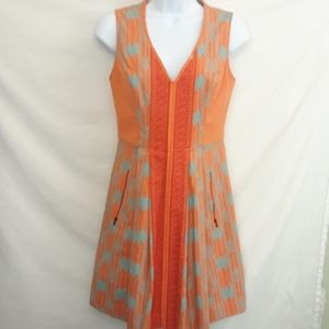 Plenty by Tracy Reese Orange Arrow Dress